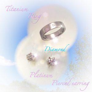 ダイヤモンドのジュエリー