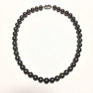 タヒチ黒蝶真珠ネックレス
