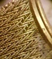 ゴールド腕時計バンドをロウ付け修理 岡田彫金工房