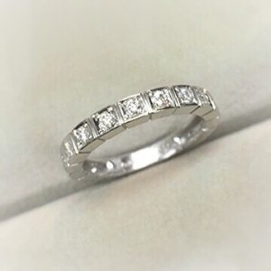 Pt900のダイヤモンドリング