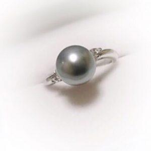 タヒチ真珠指輪
