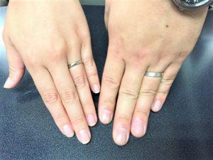 プラチナマリッジリング 結婚指輪