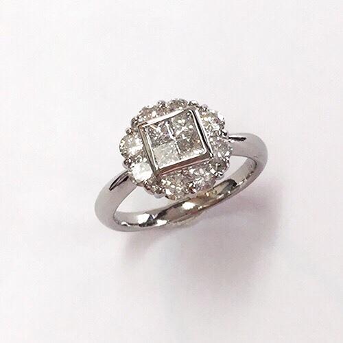 ミステリーセッティングダイヤモンドリング