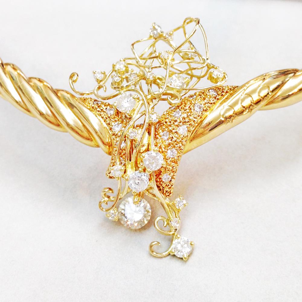 オリジナルダイヤモンドネックレス