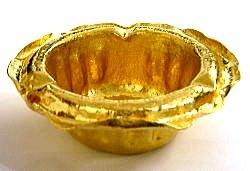 純金灰皿 カスタムメイド
