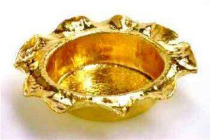 純金灰皿 ハンドメイド