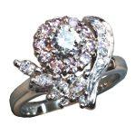リフォーム後のダイヤモンドリング