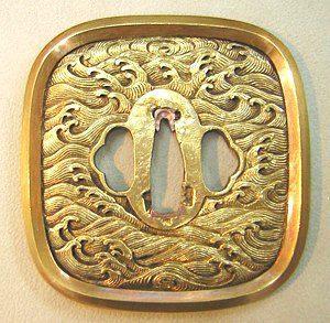真鍮鐔 覆輪