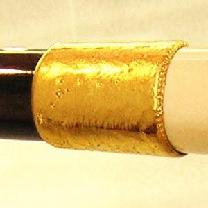 杖 純金金具