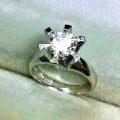 リフォーム前のダイヤモンド指輪