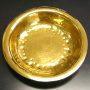 オーダーメイド 純金カレー皿