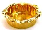 オーダーメイド 純金灰皿