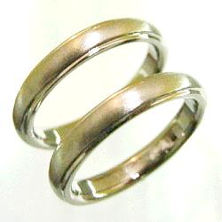 フルオーダーの純チタン結婚指輪