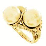 オリジナル真珠指輪